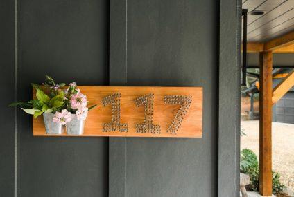 15 maneiras de exibir os números de casa
