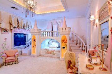 Princesas merecem um quarto digno de conto-de-fadas!