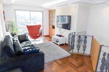 Conheça a Cobertura duplex na Vila Ipojuca, 3 quartos