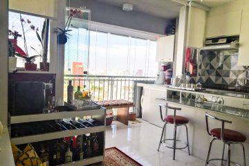 Conheça o apartamento de 1 quarto no bairro Sumarezinho